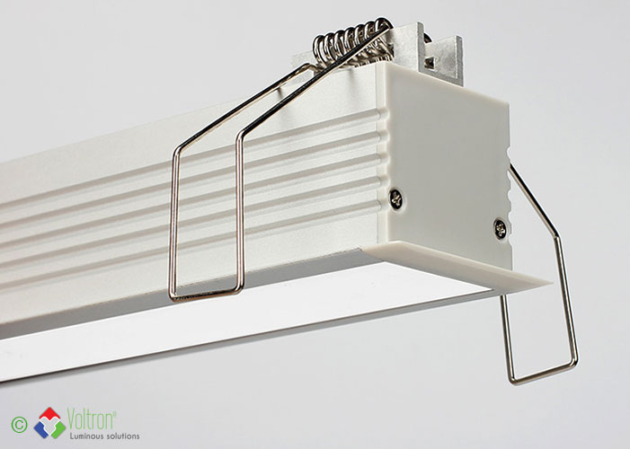 Led aluminum profiles/PF-35-BOORD-MI by Voltron Lighting Group