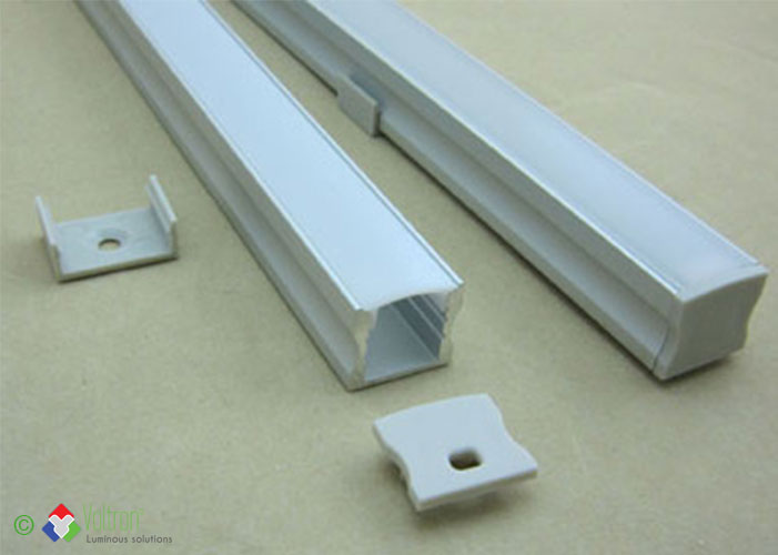 Led aluminum profiles/PF-15-Brut-MI by Voltron Lighting Group
