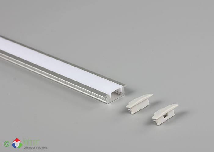 Led aluminum profiles/PF-7-BOORD-MI by Voltron Lighting Group