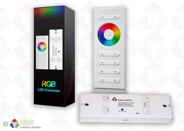 Our new RGB RF LED controller is here! - ©Voltron®