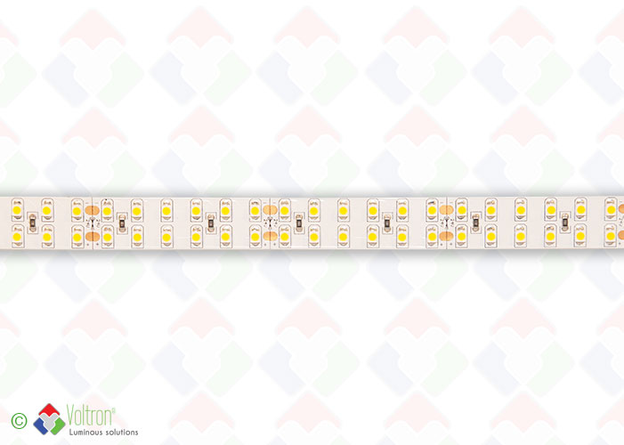 Led strip : 240 led par meter SMD3528 - ULTRA SERIE/US-3528-240-WW-20-24V by Voltron Lighting Group
