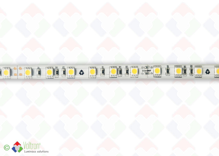 Led strip : 60 led par meter SMD5050 -PREMIUM VERSION/PV-5050-60-WW-54-24V by Voltron Lighting Group