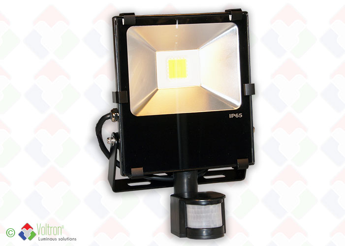 LED flood top design/VSTND-30W-65-DW-PIR by Voltron Lighting Group