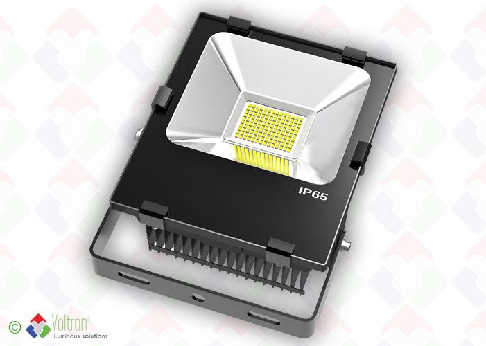 LED flood top design/VSTND-50W-65-WW by Voltron Lighting Group