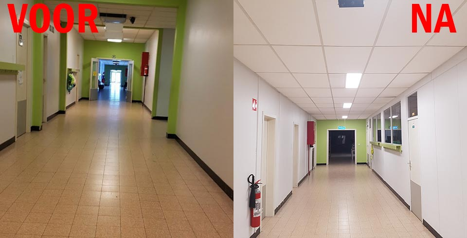 MPI Koksijde saves between 52 and 75 percent with their new Voltron® lighting - ©Voltron®